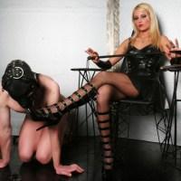 Секс с госпажой